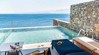 Maisonette with sea view and private pool TUI BLUE Elounda Village