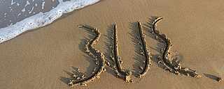TUI BLUE Logo auf Sand