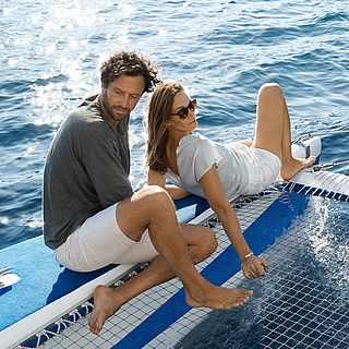 Paar auf Katamaran TUI BLUE Ausflug Sarigerme Park