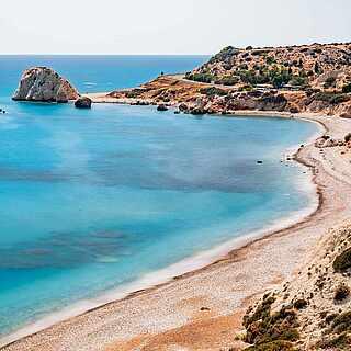 Strand bei Paphos